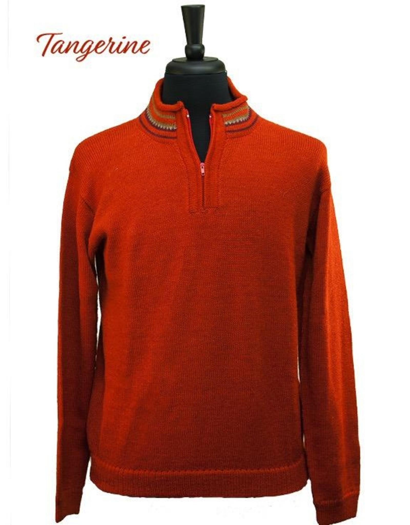 The Sweater Venture Alpaca Quarter Zip w/ Fleece Collar