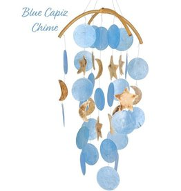 Woodstock Percussion Dk Blue Capiz Chime