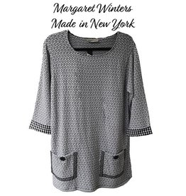 Margaret Winters Pocketed Top