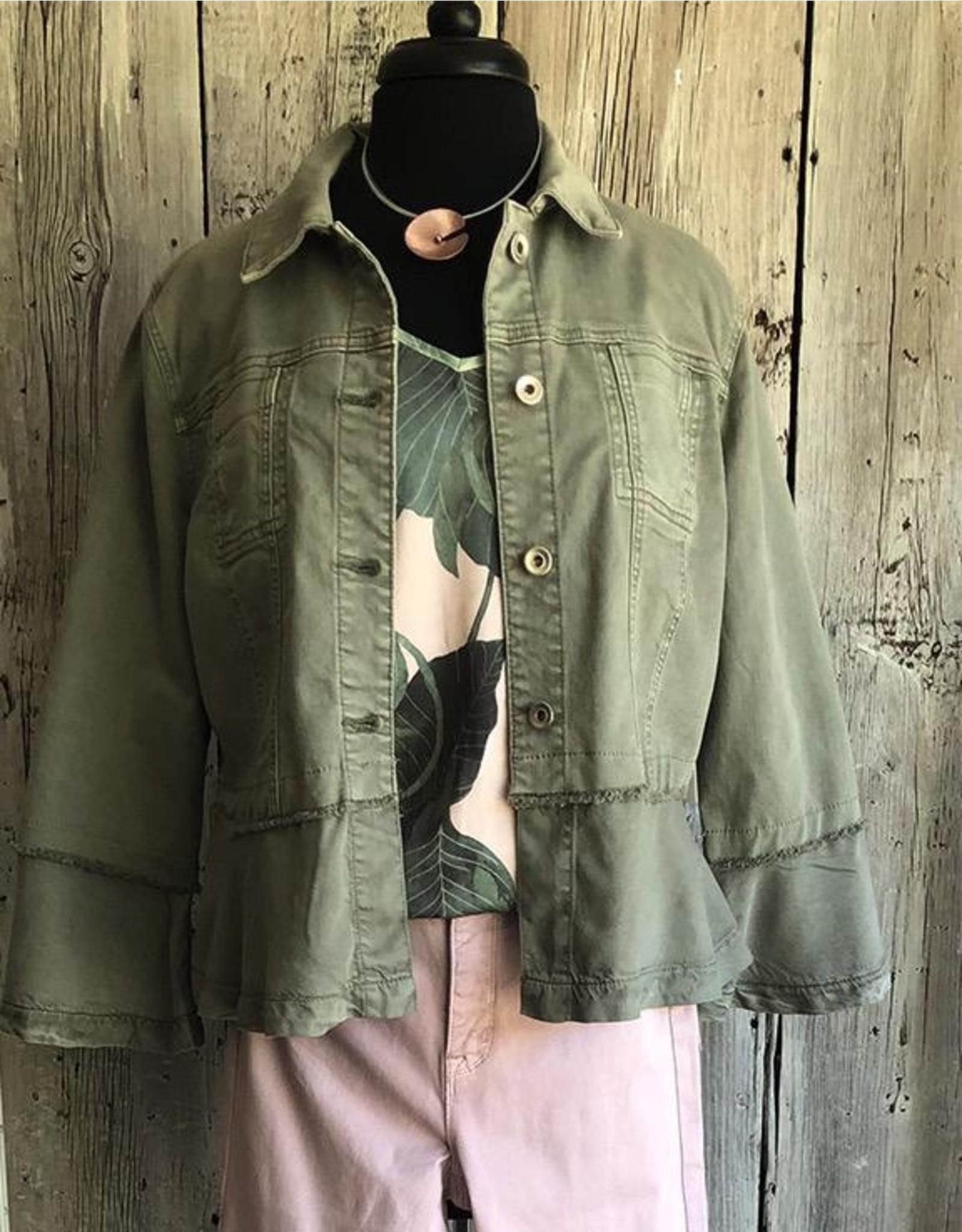 Tribu International, Inc 3/4 Slv Jacket