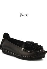 Spring Footwear Leather Comfort Slip On