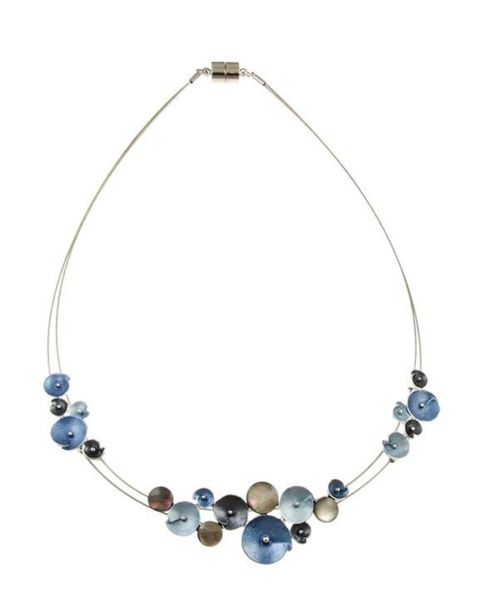 ORIGIN Metal Flower Necklace