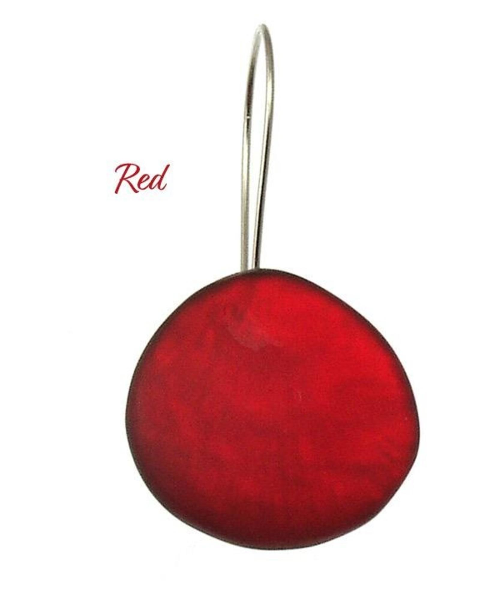 ORIGIN Round Resin Earrings