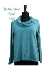Habitat Button Cowl Neck