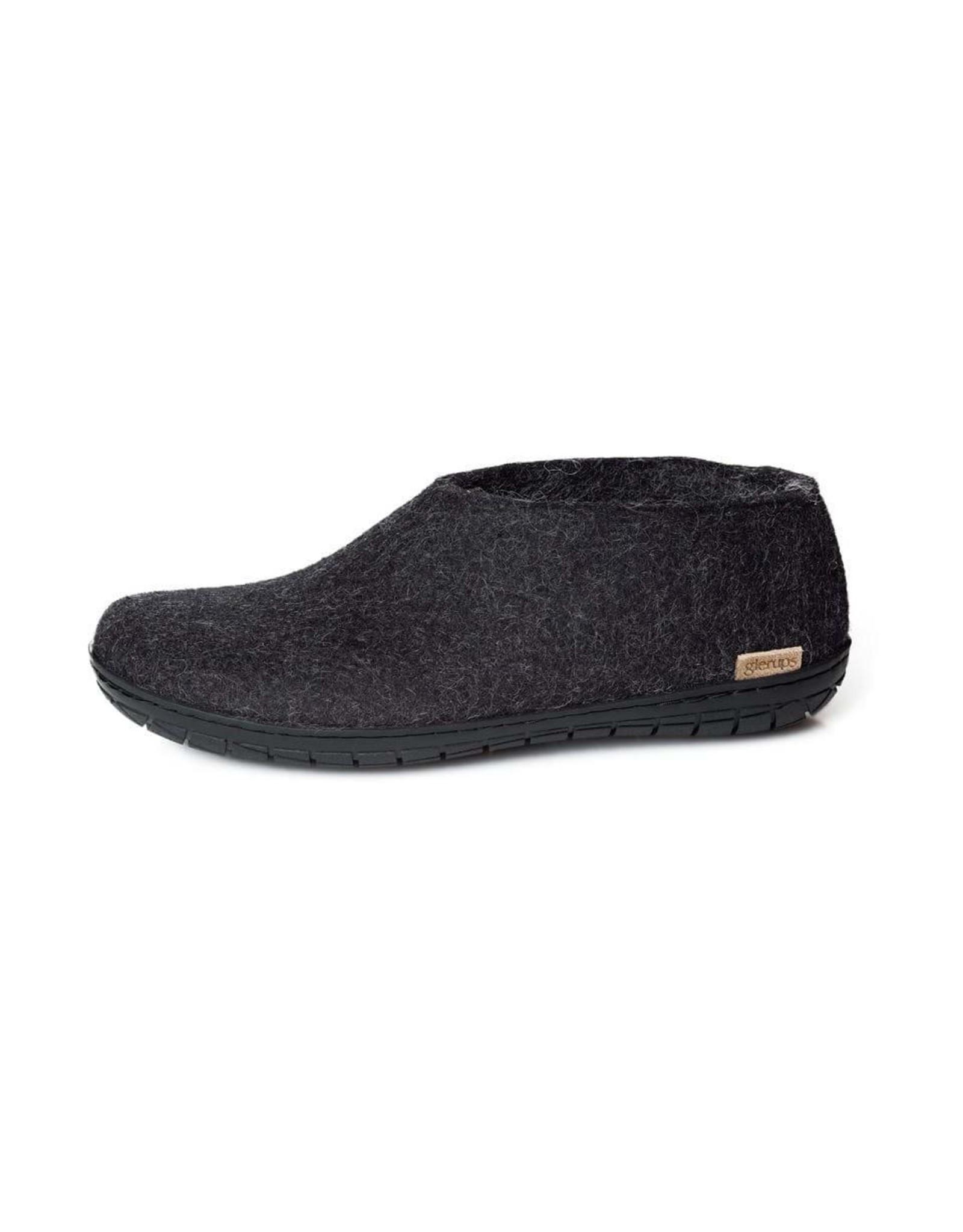 GlerupsUSA Felted Wool Shoe - Outdoor-BLK Sole