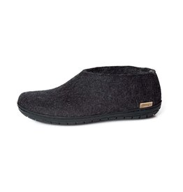 GlerupsUSA Felted Wool Shoe - Outdoor-BLK Sole