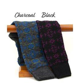 Tabask/TeyArt Floral Alpaca Sock