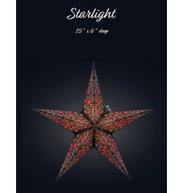 Cathedral Starlight Blk-Pink-Pnk-Or