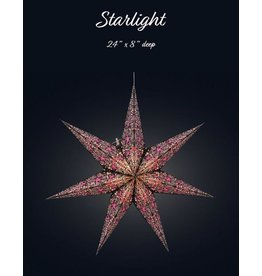 Cathedral Starlight Blk-Pink