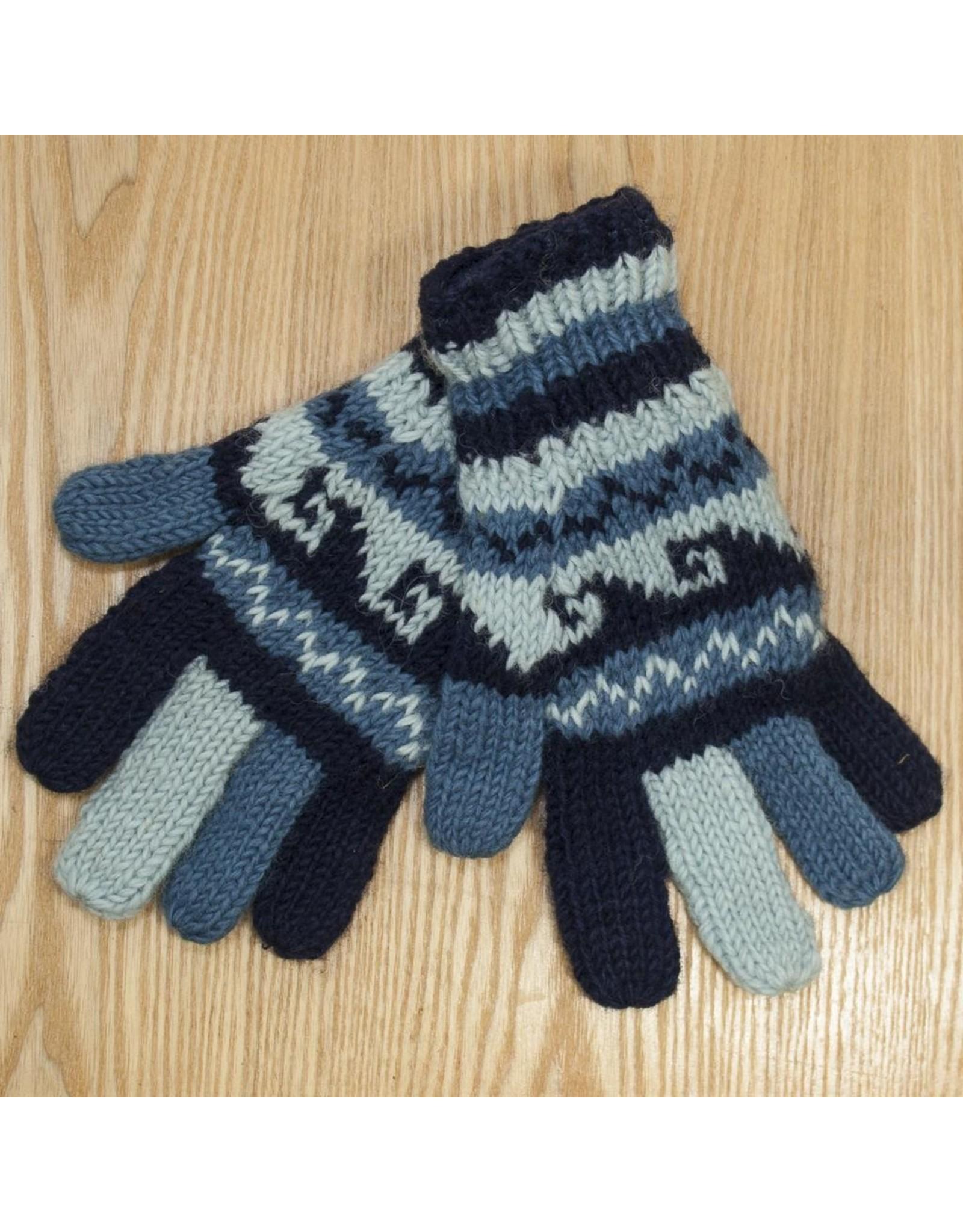 The Sweater Venture Snowfox Fleece Lined Gloves