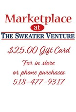 The Sweater Venture $25.00 Website gift card