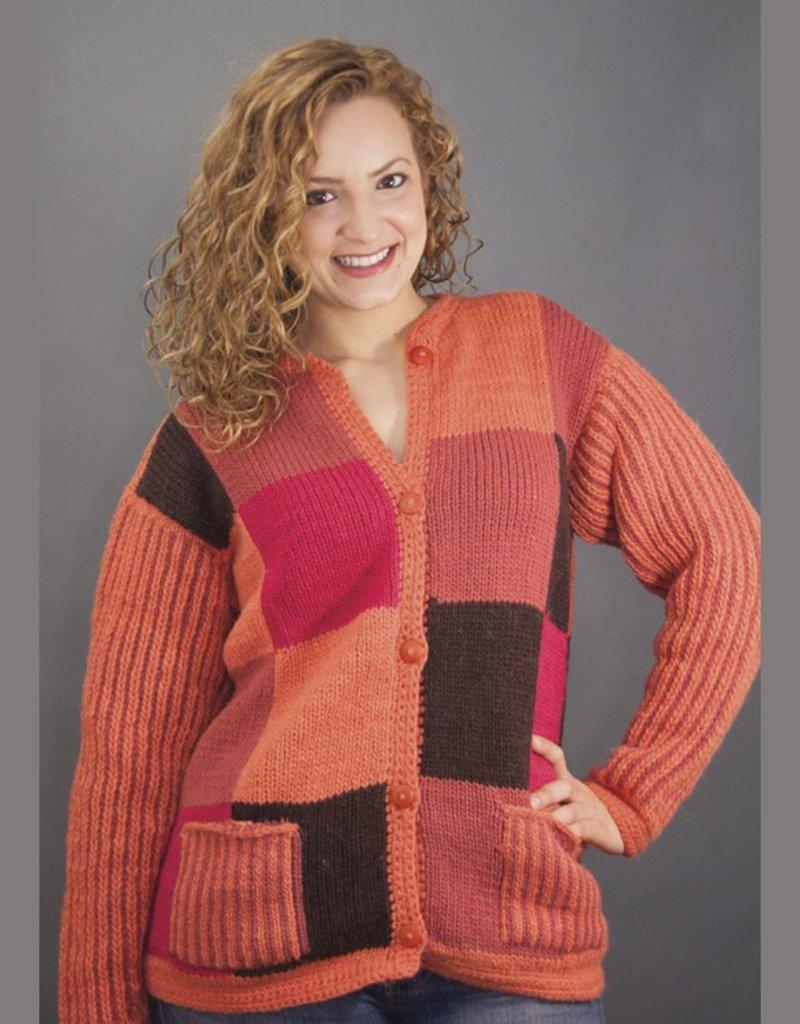 The Sweater Venture Stripes & Blocks ButtonUp