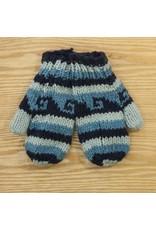 The Sweater Venture Children's Snowfox Fleece Lined Mittens