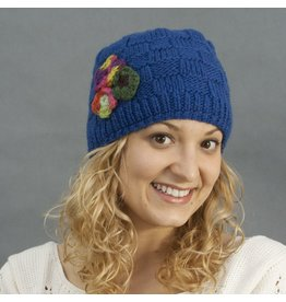 The Sweater Venture Cap w/Flower
