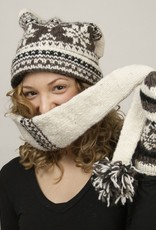The Sweater Venture Snowfox Fleece Lined Stocking Cap