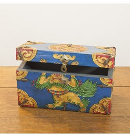 dZi One of a Kind-Hand Painted Chest