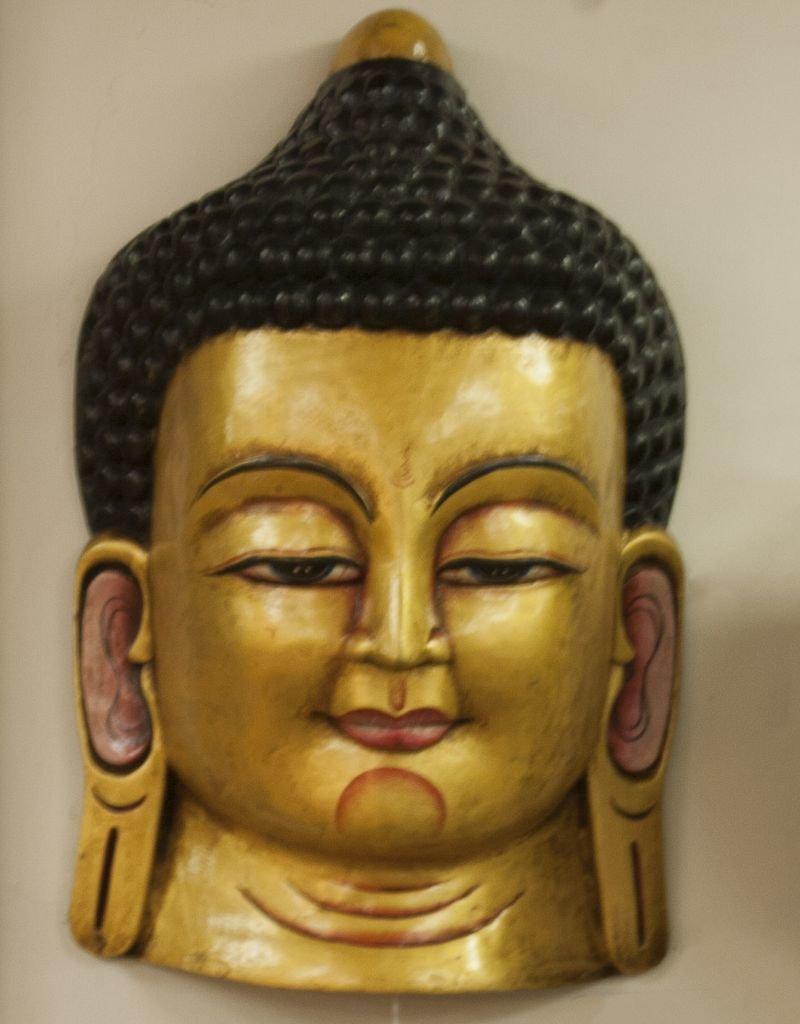 The Sweater Venture Buddha Mask