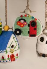 Wild Woolie Birdhouse