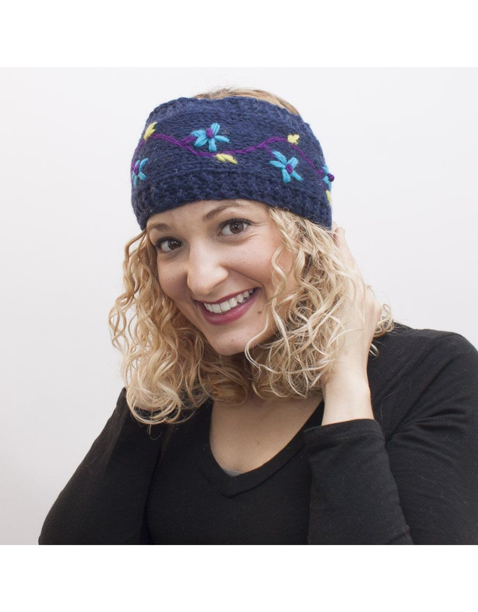 Headband w/Flowers