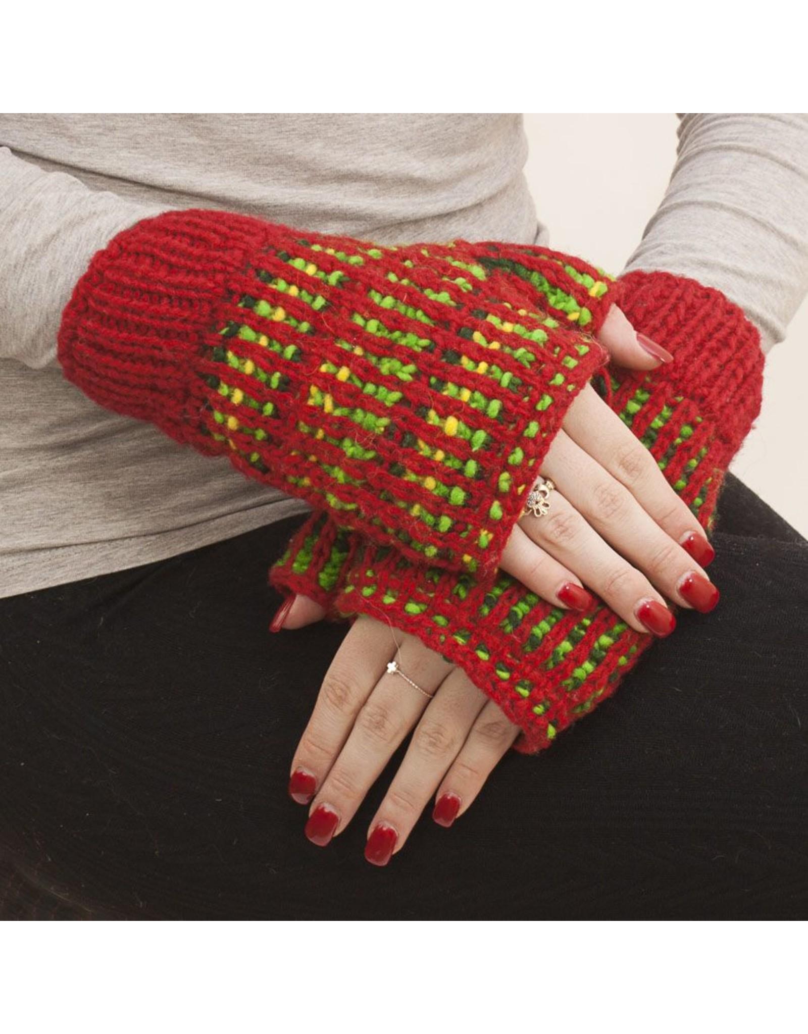 The Sweater Venture Polka Dot Wristlet