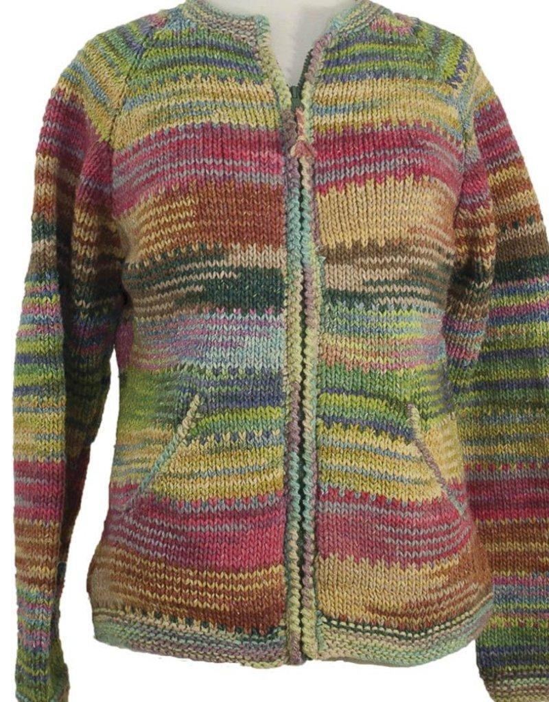 The Sweater Venture Multicolor ZipUp