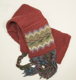 The Sweater Venture Icelandic Scarf for Kids
