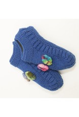 The Sweater Venture Booties w/Flower