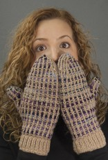 The Sweater Venture Polka Dot Fleece Lined Mittens