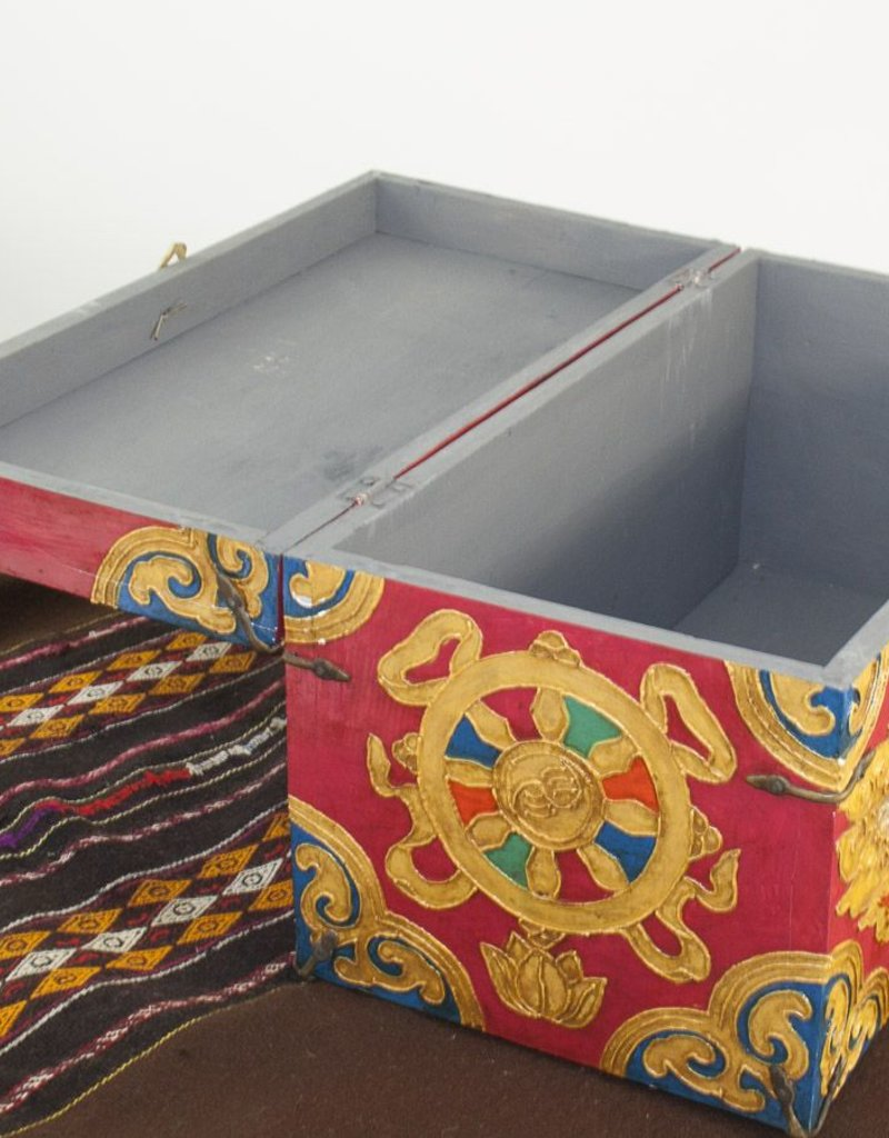 One of a kind- Hand Painted Chest