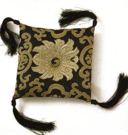 Silk Brocade Bowl Cushion