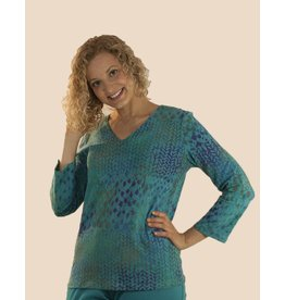 Su Placer Marcea 3/4 Sleeve Top