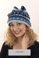 The Sweater Venture Snowfox Fleece Lined Four Corner Cap