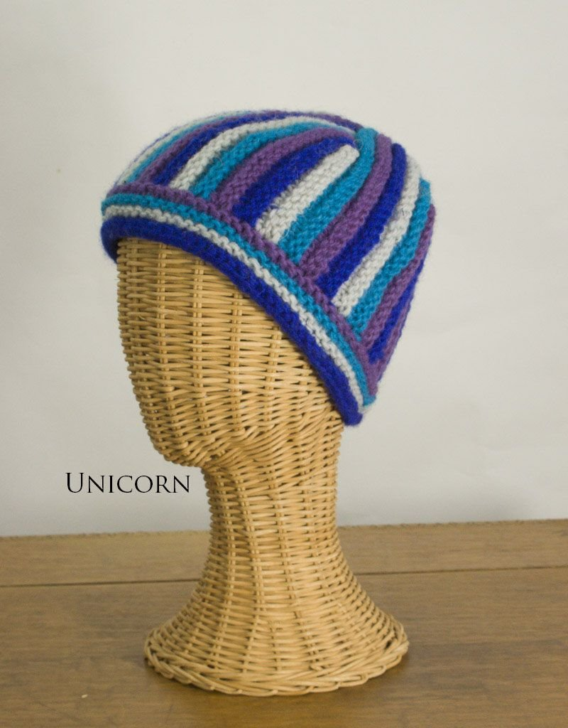 The Sweater Venture Snowfox Fleece Lined Ribbed Cap
