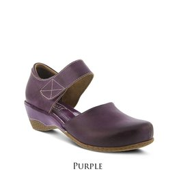 Spring Footwear Two Piece Maryjane Wedge