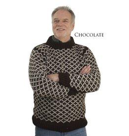The Sweater Venture Diamond Wool Pullover