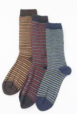 Tabask/TeyArt Narrow Stripe Alpaca Socks