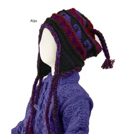 The Sweater Venture Children's Snowfox Fleece Lined Flap Cap