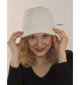 The Sweater Venture Jessica's Fleece Lined Cap in Kennebunk Wool