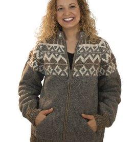 The Sweater Venture Natural Icelandic Zip