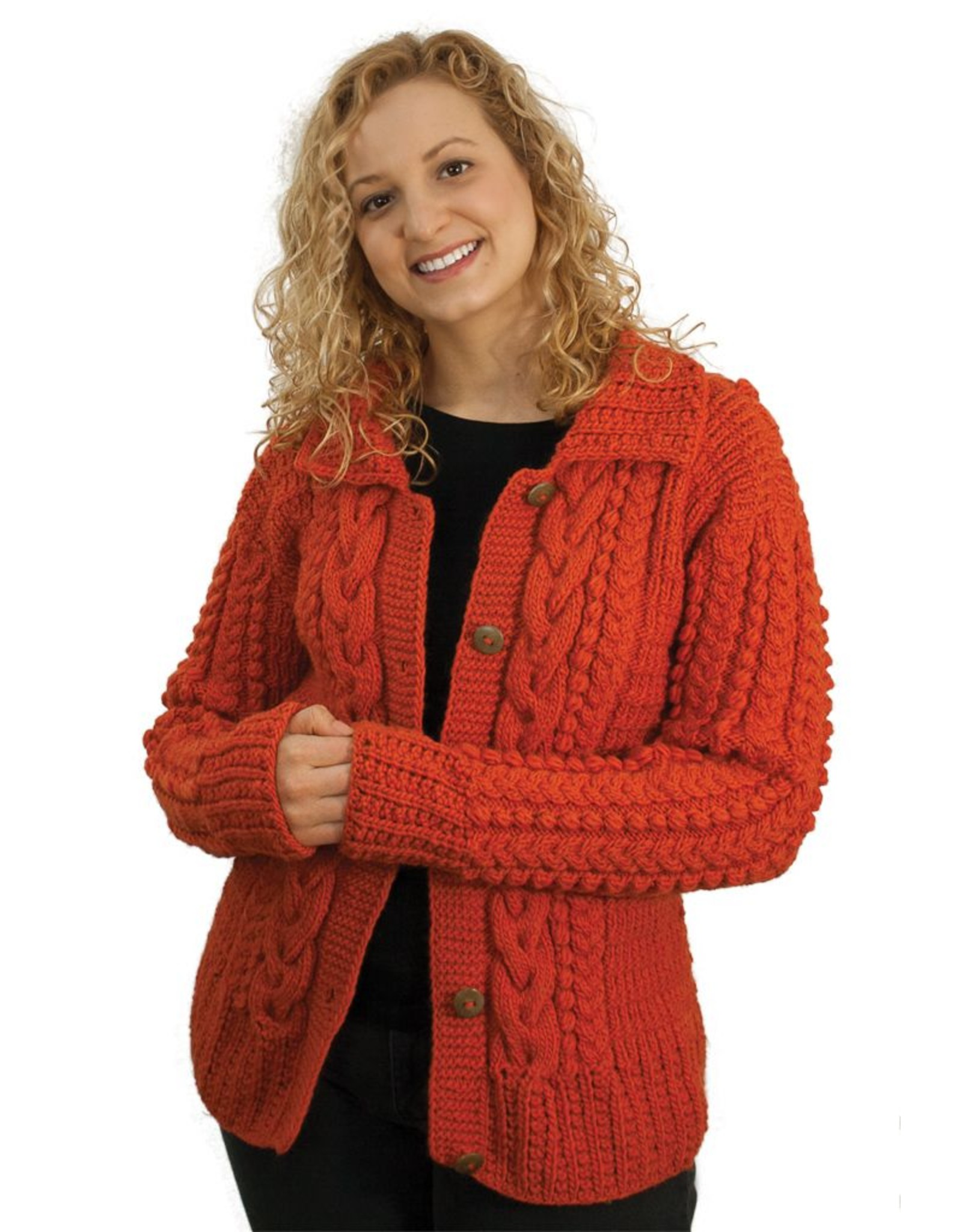 The Sweater Venture Noemi Multi Cable ButtonUp