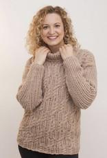 The Sweater Venture Lattice Cable Pullover