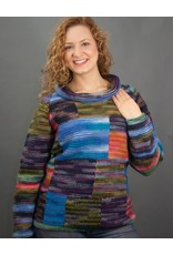 The Sweater Venture Multicolor Cowl Pullover