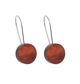 ORIGIN Resin Disk Earrings