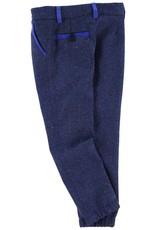 Slub jersey suit pants