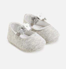 Mayoral Baby shoes with flowers