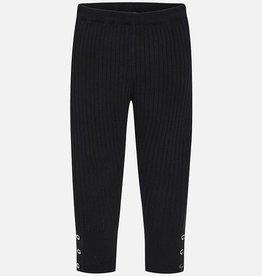 Girl's knit leggings