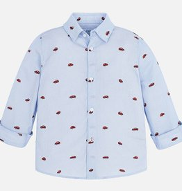 Kid's shirt, little cars print