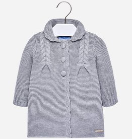 Baby knitted coat