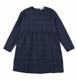 Grid flannel dress