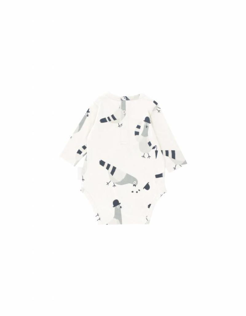 Cache-couche, imprimé pigeons